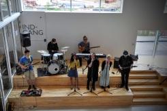 Bandet fra K:U:B:A underholdte i pausen