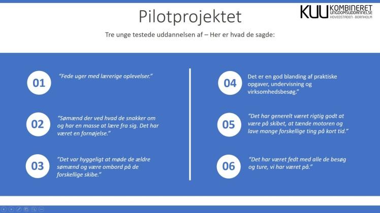 Pilotprojektet